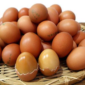 [쪽빛누리] 계란 구운란 훈제 구운계란  중란 60알+소금 생산일자