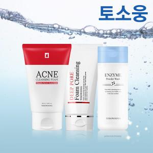 [토소웅] 폼클렌징 6종/효소세안제/트러블피부/아크네/기능성