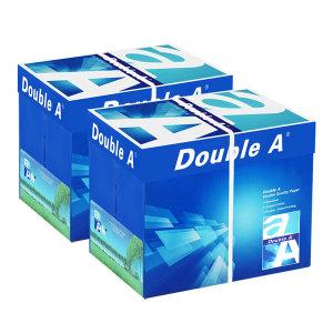 [더블에이]더블에이 A4 복사용지(A4용지) 80g 2500매 2BOX