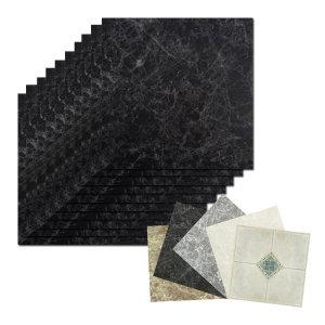 [하나리빙] 노옵션 접착식 데코타일 바닥 현관 베란다 리폼